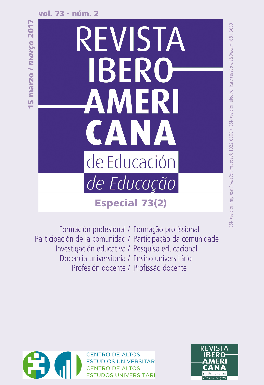 Revista Iberoamericana de Educación vol 73 núm 2