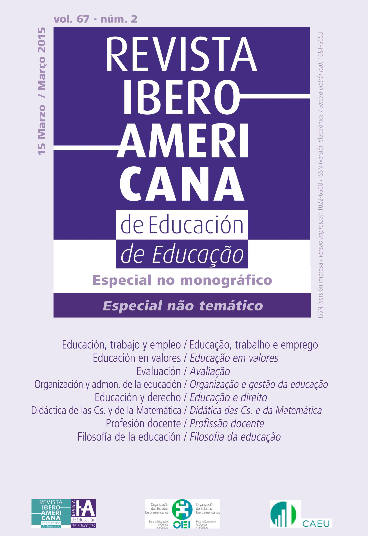 Revista Iberoamericana de Educación vol 67 núm 2